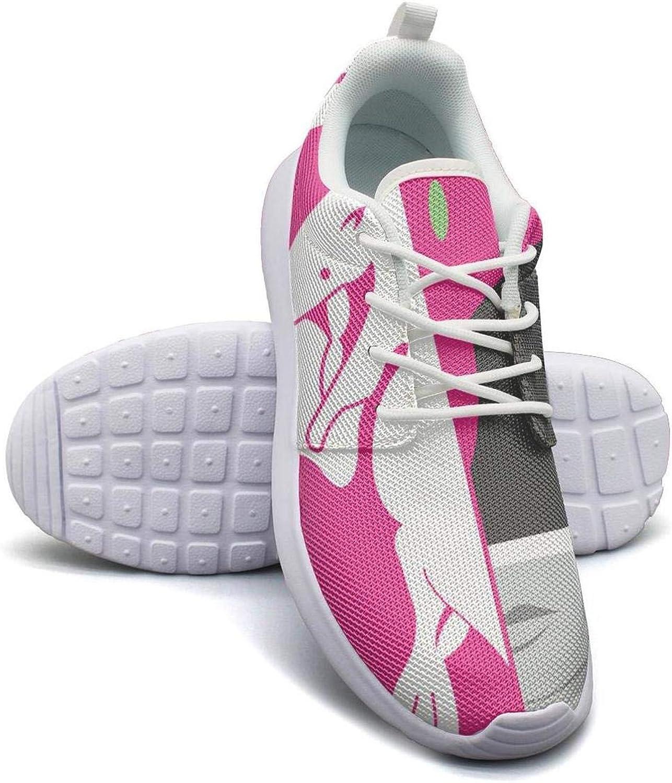 GAKIIER Womens Ladies Pink-Power-Rangers- Basketball Sneakers for Womens