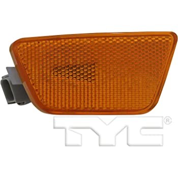 TYC 18-6168-00-9 Compatible with CHEVROLET Camaro Replacement Front Left Side Marker
