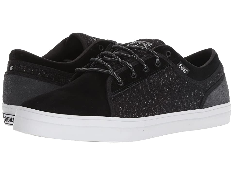 a69b856cee DVS Shoe Company Aversa+ (Black Charcoal) Men s Skate Shoes