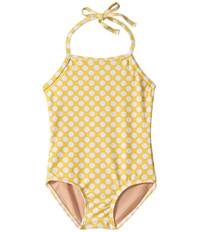 Toobydoo One-Piece Swimsuit (Toddler/Little Kids/Big Kids) (Yellow Polka Dot) Girl