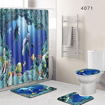 92f6fe8a76b3 Amazon.es: CORTINAS BAÑO - Juegos de accesorios de baño / Accesorios ...