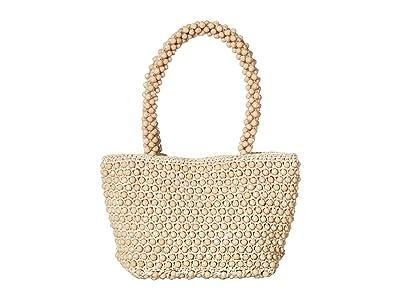 Loeffler Randall Mina Beaded Tote (Putty) Tote Handbags