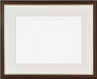 ダイガク(Daigaku) 額縁 ブラウン 水彩F6 軽量水彩額 コンパクトサイズ 8157