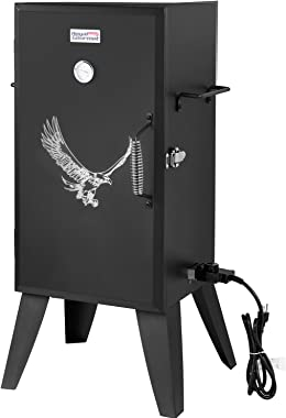 Royal Gourmet SE2801 Electric Smoker with Adjustable Temperature Control, Black