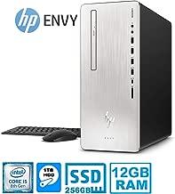 HP Envy 795-00 Desktop PC Intel Core i5 8400 6-Core 12GB 1TB HDD + 256GB SSD Drive (Renewed)