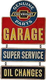 Open Road Brands Chevrolet Garage Linked Hanging Tin Sign