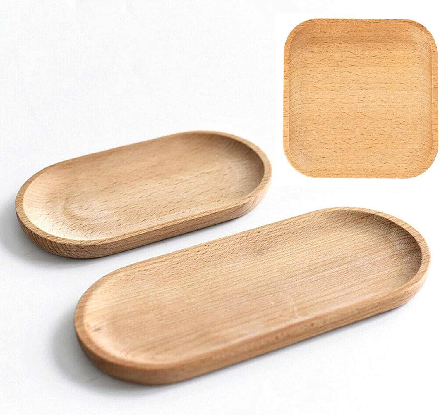 Serving Tray Wooden Set Daily bargain sale of Wood L Square Sales 3 S