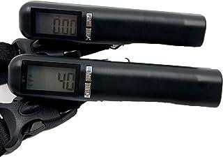 Mignon Lapin 元添乗員が選んだ デジタル秤 最大40kg対応 デジタルスケール 自動電源オフ 機能付 日本語説明書付 (03 ブラック40kg2個)