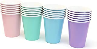 Pastel Rainbow Party Paper Cups 9 Ounce (24 Pack)