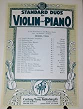 Over the Waves, Waltz, Century Music Series Two No. - 1460, Standard Duos for Violin and Piano