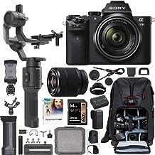 Sony a7 II Full-Frame Alpha Mirrorless Digital Camera a7II + 28-70mm Lens ILCE-7M2/K Filmmaker's Kit with DJI Ronin-SC 3-A...