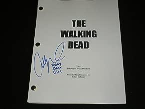 Addy Miller Signed The Walking Dead Pilot SCRIPT Summer Teddy Bear Girl Autograph
