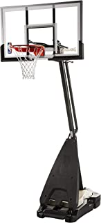 "Spalding Ultimate Hybrid 54"" Acrylic Portable Basketball Hoop"