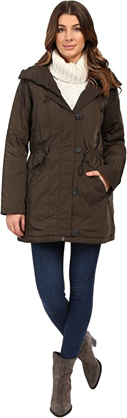 "Chrissy 32"" Luxe Rain Coat"