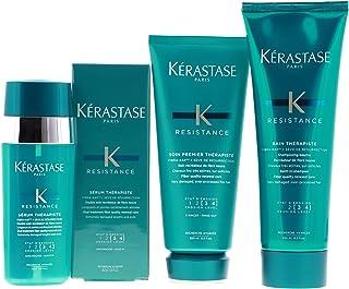 Kerastase Resistance Therapiste Shampoo 250Ml, Conditioner 200Ml And Serum 30Ml Trio