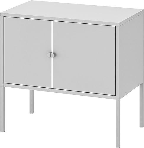Ikea LIXHULT Metal Cabinet, 60x35 cm/23 5/8x13 3/4-inch , Grey