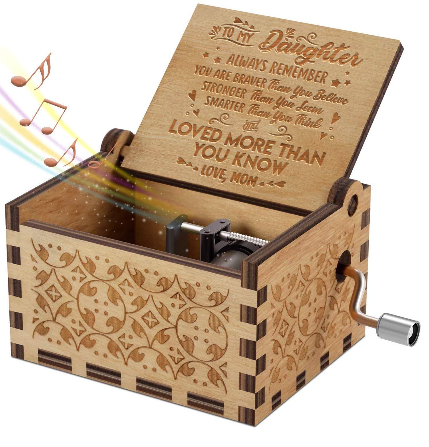 Engraved Music Box Sunshine Daughter