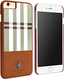 Santa Barbara Polo & Racquet Club Plaid Series Case for iPhone 6s Plus / 6 Plus (Brown)
