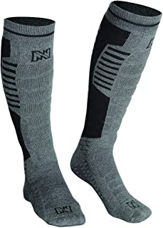 Mobile Warming Heated Socks, Tri-blend Construction
