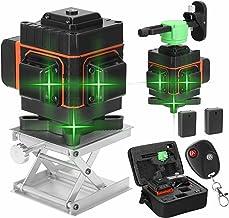 Romacci Ferramenta Multifuncional de Nível Laser de 12 Linhas Linhas Horizontais Verticais com Função de Autonivelamento d...
