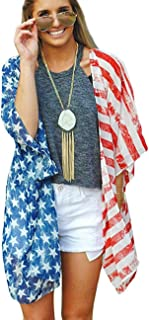 Best Womens Kimono Cardigans Floral Print Chiffon Beach Cover ups Loose Casual Tops Review