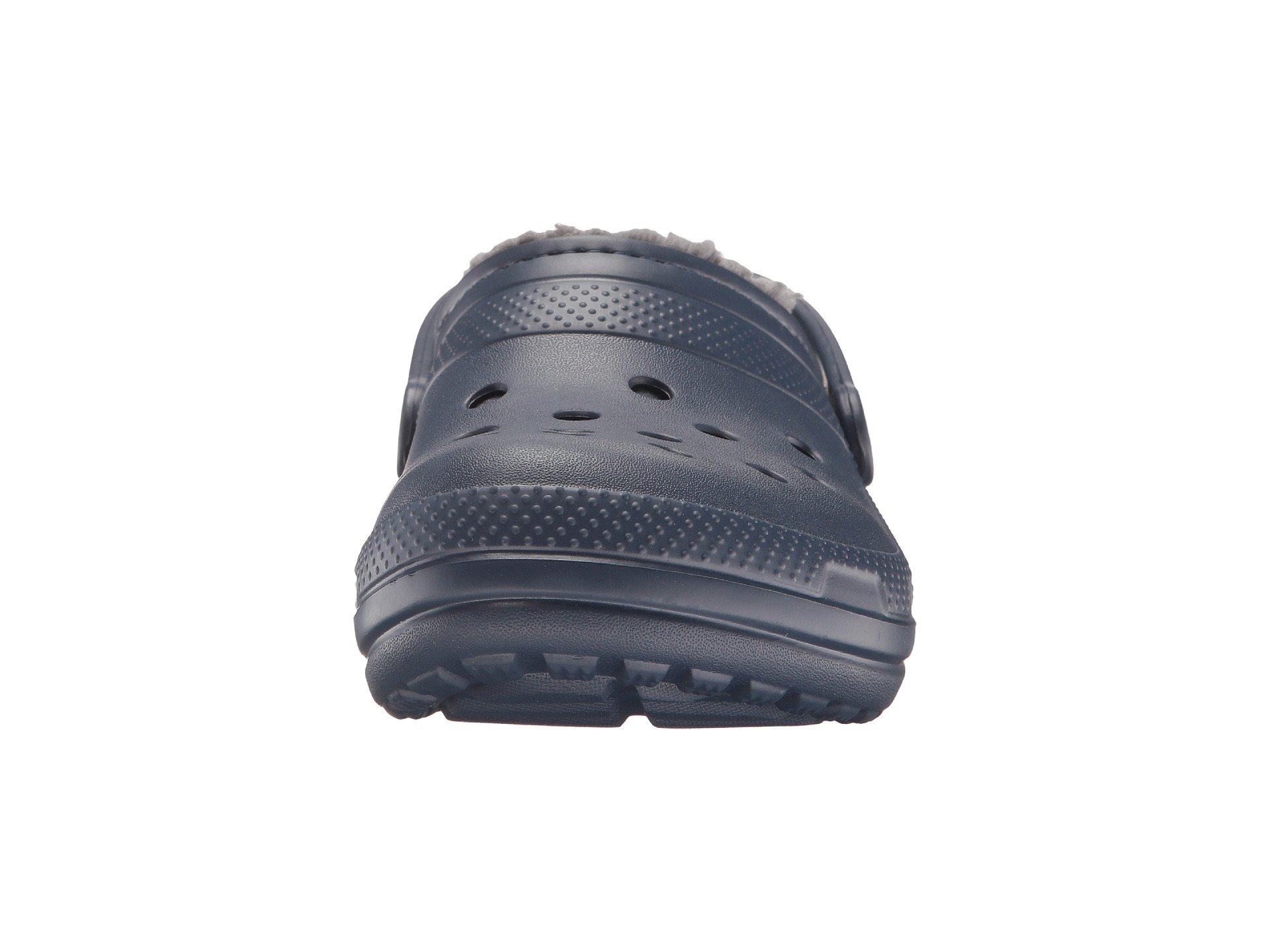 Clog Navy charcoal Lined Classic Crocs 0WFEqwHP4c