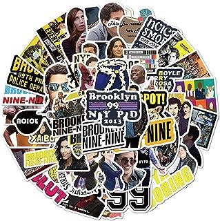 LSHLSH Tv-programma Brooklyn 99 Sticker Skateboard Gitaar Koffer Koelkast Motorfiets Graffiti Diy Grap Sticker 50 Stks
