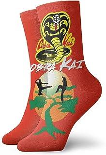 Yuanmeiju, calcetines de punto Cobra Kai Socks Unisex Durable Ankle Socks Low Cut Cushioned Wicking Athletic Socks For Men Women