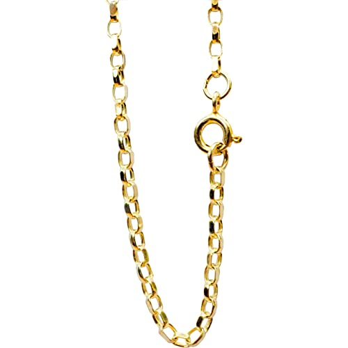 c4e6e328fca27 Gold Belcher Chain: Amazon.co.uk