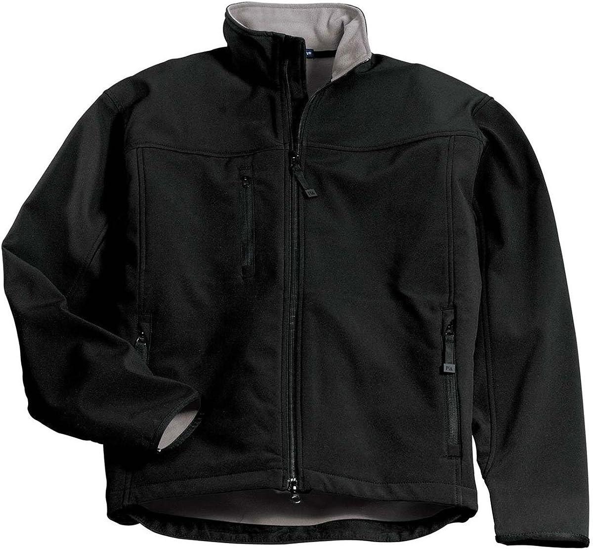 Port Authority Ranking TOP2 Regular store Glacier Soft Shell J790 Chrome Black Jacket.