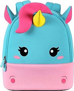 NOHOO Toddler Backpack Kids Backpack Cute Animal Schoolbag Waterproof Zoo Backpack for Baby Boy and Girl Age 2 to 6