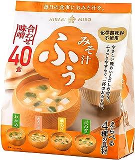 ひかり味噌 みそ汁ふぅ 合わせ味噌 40食