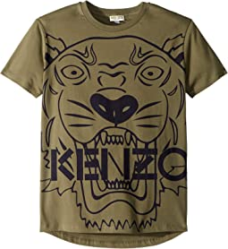 Short Sleeve Tiger T-Shirt (Big Kids)