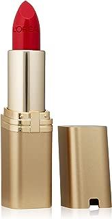 L'Oreal Paris Makeup Colour Riche Original Creamy, Hydrating Satin Lipstick, 315 True Red, 1 Count
