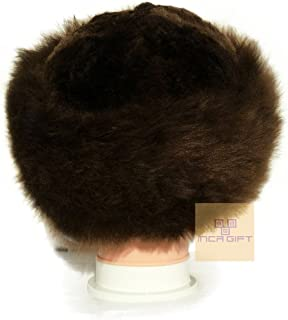 IncaGift Premium Baby Alpaca Fur Hat - Russian Cossack Style Hat Winter -Wrap Hat