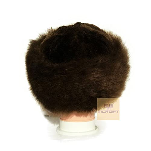 5299933698f4f IncaGift Premium Baby Alpaca Fur Hat - Russian Cossack Style Hat Winter  -Wrap Hat