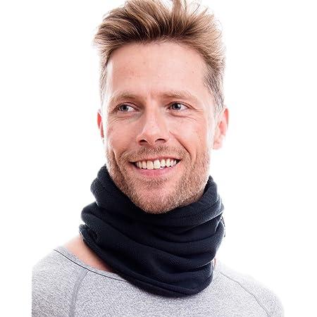 axy Polar Multifunktionstuch Schlauchtuch mit Kordelzug Nackenw/ärmer Halsw/ärmer Motorradfahren Radfahren Halstuch Kopftuch f/ür Damen und Herren Sturmhauben Skimaske Gesichtsmaske