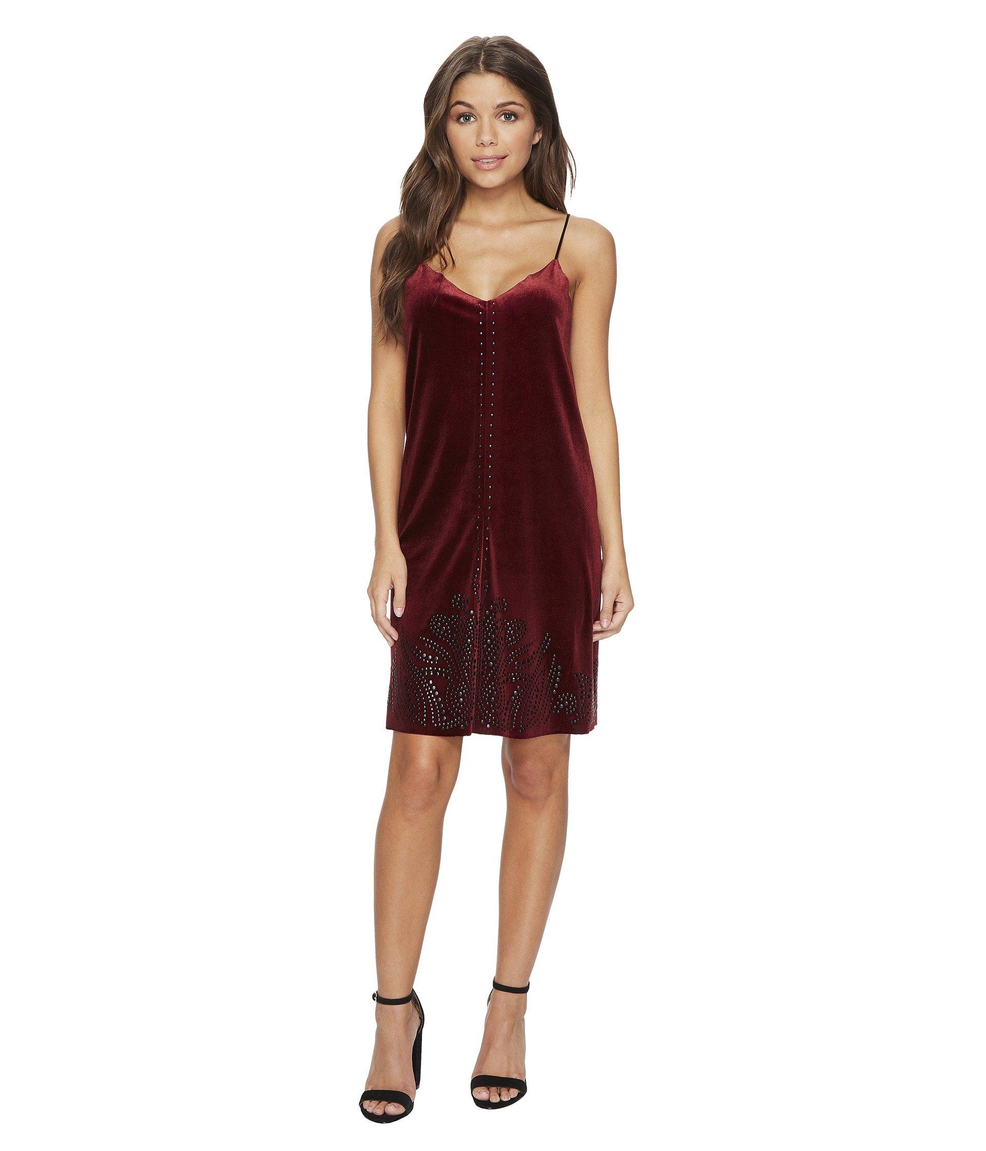 Velvet Dress in Velvet Rope