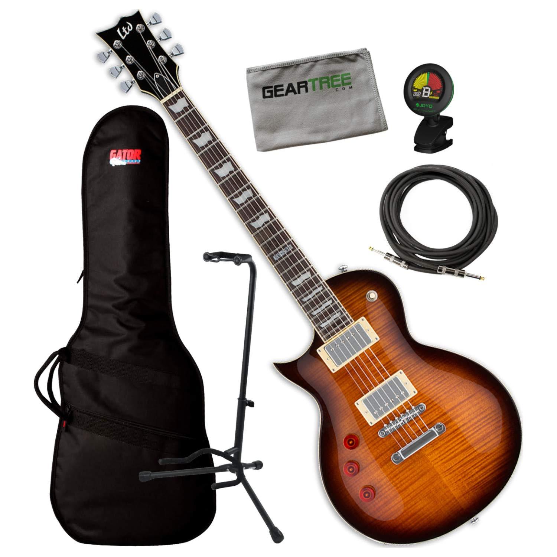 Cheap ESP LTD EC-256LH Left-Handed Dark Brown Sunburst Electric Guitar w/Bag Stand Black Friday & Cyber Monday 2019