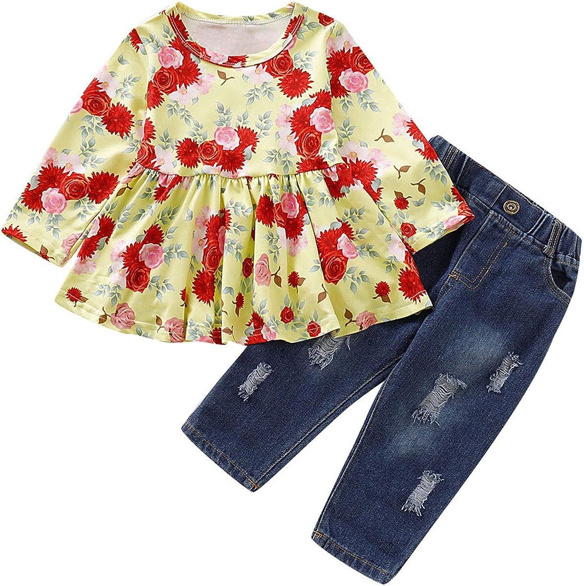 Tianhaik - Vestido de Manga Corta y Larga para niñas y bebés ...