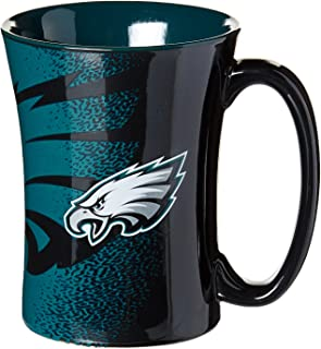 NFL Philadelphia Eagles Mocha Mug, 14-ounce, Black