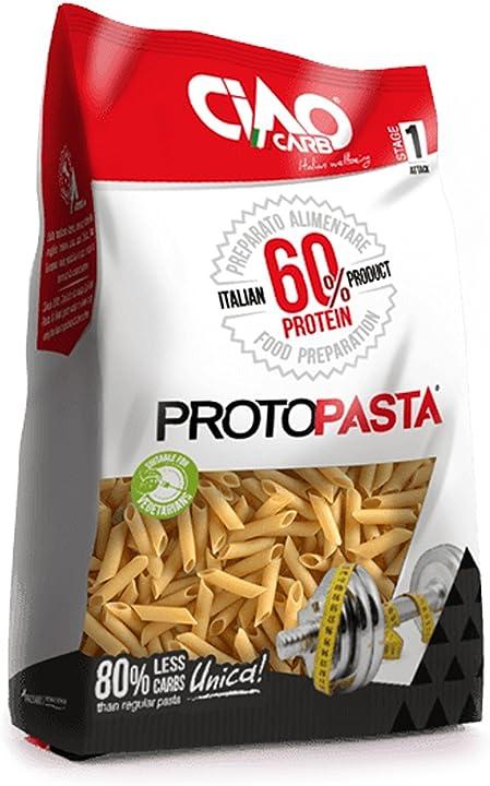 Pasta proteica 300 gr (6x50 gr) - penne rigate - altissimo contenuto di proteine (60%) - sp600 B00J014ANS