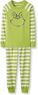 Grinch Kids Organic Cotton 2-Piece Long-Sleeve Pajama Set