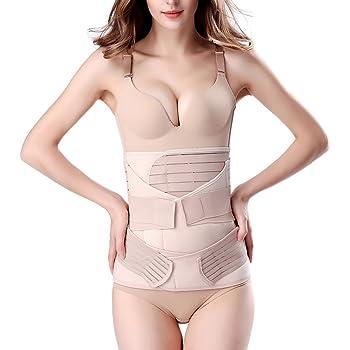 Skin, Black Recovery Belly Wrap Waist Trimmer Belt Postpartum Support Recovery Pelvis Belt Body Shaper Postnatal Shapewear
