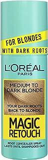 L'Oreal Paris Magic Retouch Blonde With Dark Roots 75ml, Medium To Dark Blonde