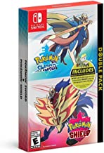 Pokemon Sword and Pokemon Shield Double Pack - Nintendo...