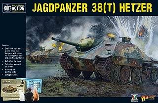 Bolt Action Jagdpanzer 38(t) Hetzer Tank 1:56 WWII Military Wargaming Plastic Model Kit