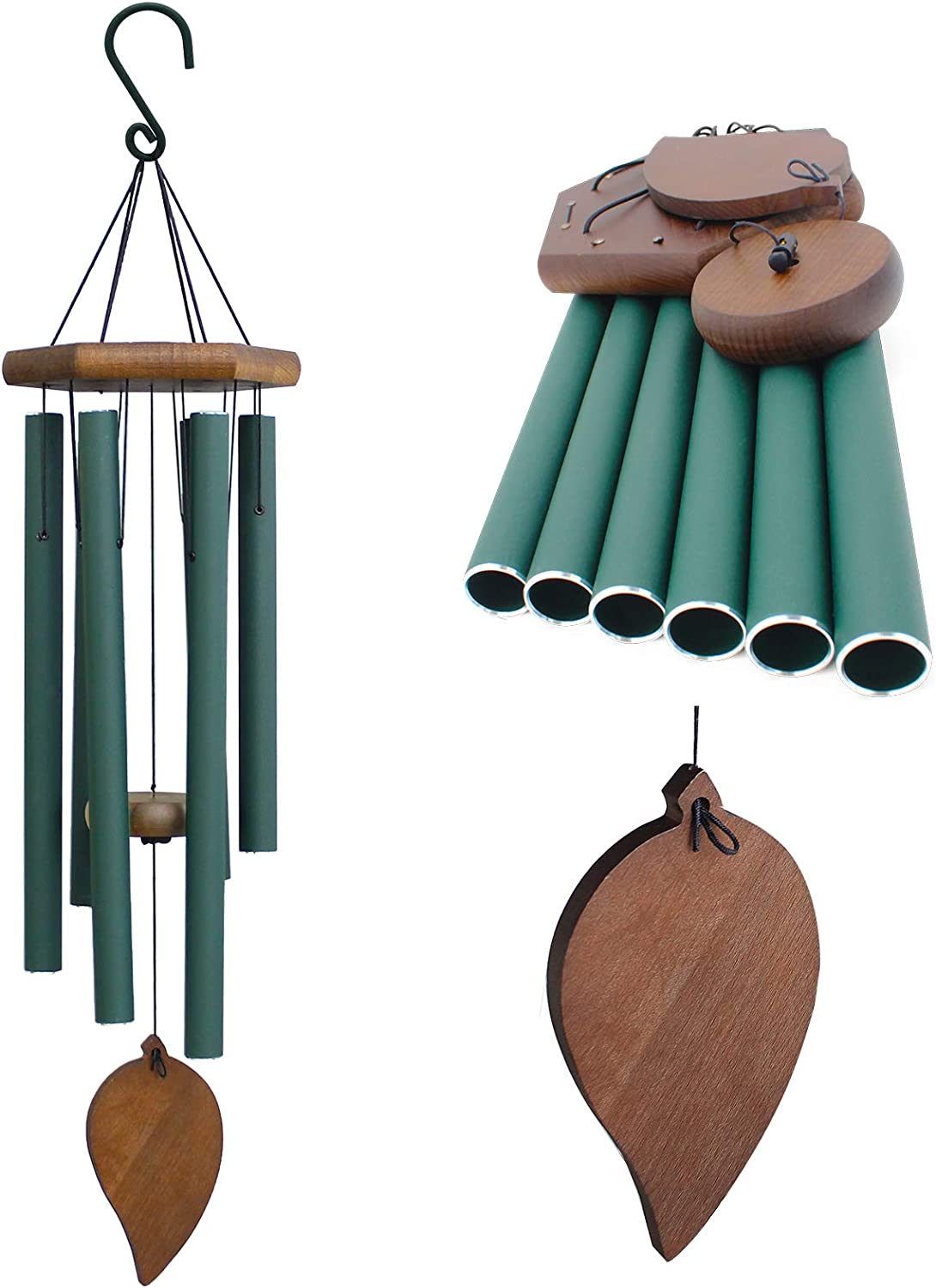 WEEBOPE Wind Chimes for Outdoors Deep San Francisco Mall f Windchime Tone 30 - Weekly update Inch
