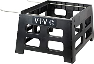 VIVO Black Plastic Beehive Stand, Beekeeping Hive Support Tool BEE-HVST