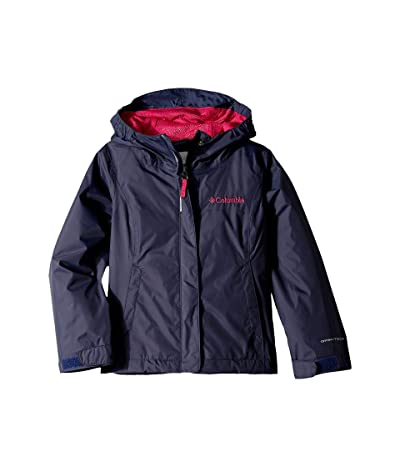 Columbia Kids Arcadiatm Jacket (Little Kids/Big Kids) (Nocturnal/Haute Pink) Girl